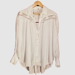 Free People Tops - Free People Oversize Top XS/TP